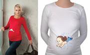 Eğlenceli ve Komik Hamile Tişörtleri
