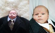 Takım Elbiseli Bebekler