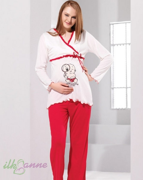 2014 Yeni Model Tuba Pijama ve Gecelik Seti