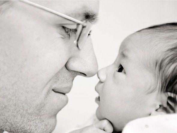 Baba ve Bebeğin İlk Tanışma Anı