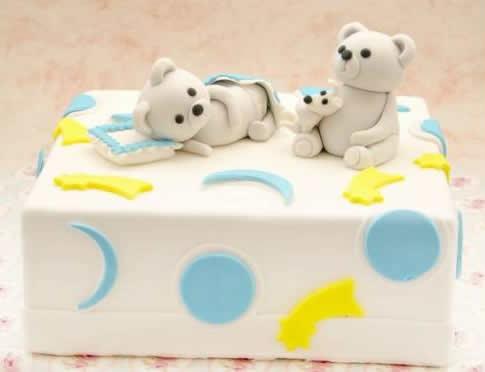 Bebeğiniz İçin Doğum Günü Pastası