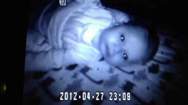 Bebek kamerası gerçeği gösterdi!-fd
