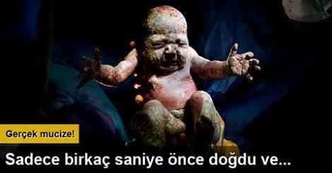 Bebeklerin dünyaya geldiği mucizevi anlar-0d