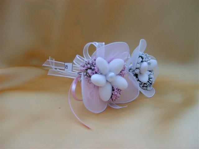 Çiçek Buketi Şeklinde Nikah Şekeri Modeli
