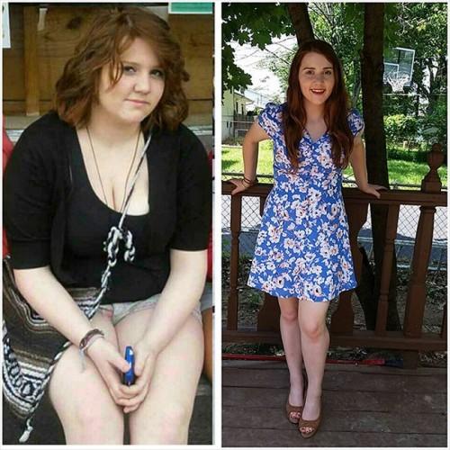 Değişimin böylesi kilo verdiler