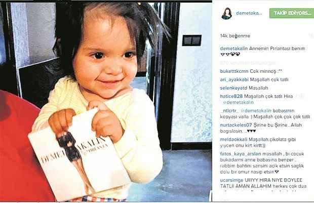 Demet Akalın kızının fotoğrafını paylaştı-97
