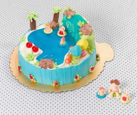 Eğlenceli Doğum Günü Pastası