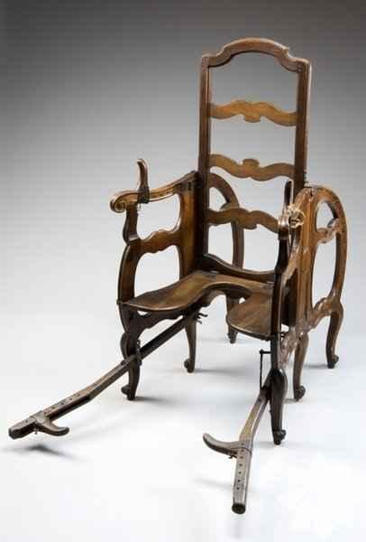 Eski doğum sandalyeleri-ea