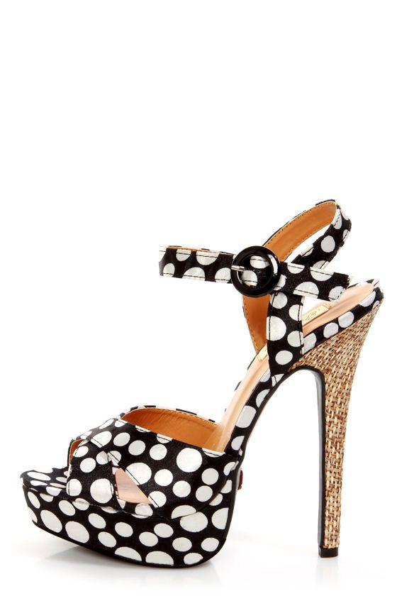 Leopar Desenli Sandalet Topuklu Ayakkabı