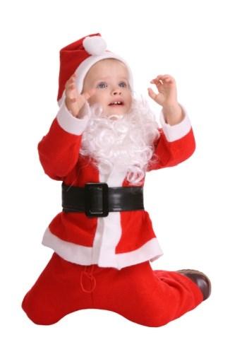 Minik ve Sevimli Bebek Noel Baba