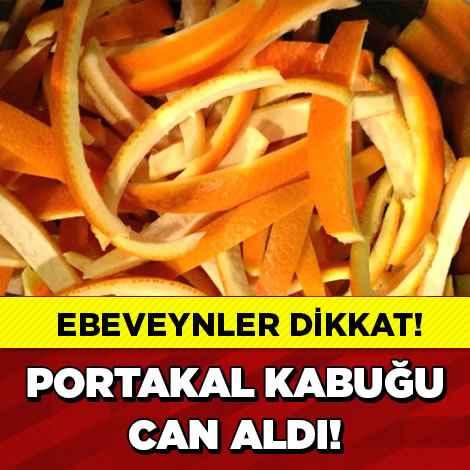 Portakal Kabuğu Can Aldı!-9c