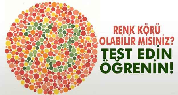 Renk körlüğü testi-42