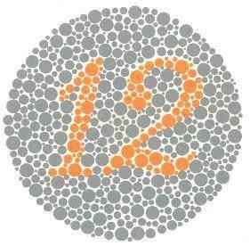 Renk körlüğü testi-9f