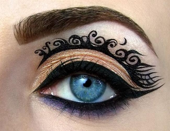 Sanat Gibi Göz Makyajları-8b