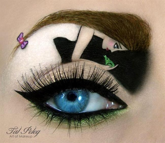 Sanat Gibi Göz Makyajları-ab