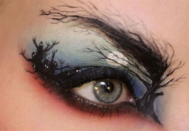 Sanat Gibi Göz Makyajları-ec