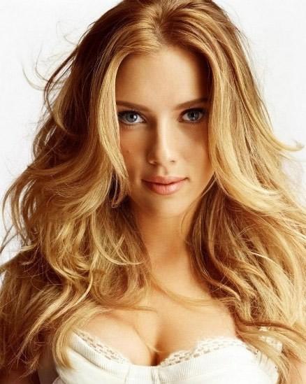 Sarı Katlı Kesim Saç Modelleri
