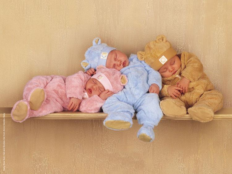 Sevimli 3 Bebek