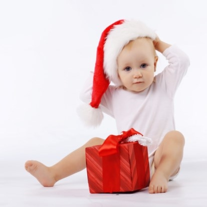 Tatlı Yeni Yıl Bebeği