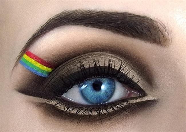 Trend Göz Makyajı Tasarımı