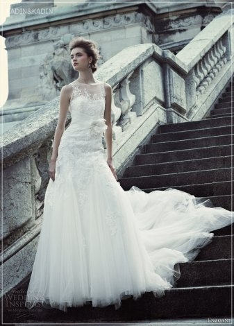 blue by enzoani 2013 fargo illusion wedding dress