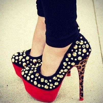 İddialı Topuklu Ayakkabı